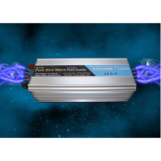 Pure Sine Wave Power Inverter 3000w / 6000w 12v - 240v AUS plug Car Boat Caravan