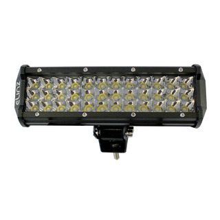 "10"" LED Work Driving Light Bar 3 Rows Philips Spot Offroad  12V 24V Truck 4WD"