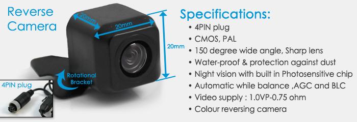 camera caravan reversing camera