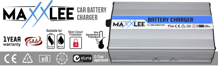 MaxxLee car battery charger