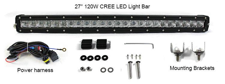 led light bar in Australia accessories