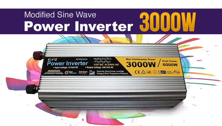 sine wave inverter 1000w main image