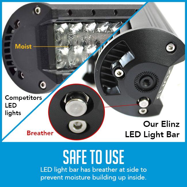 safe to use light bar