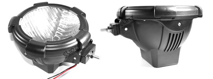 2x 9 Quot 100w 12v Hid Xenon Driving Lights Flood Spot Spiral