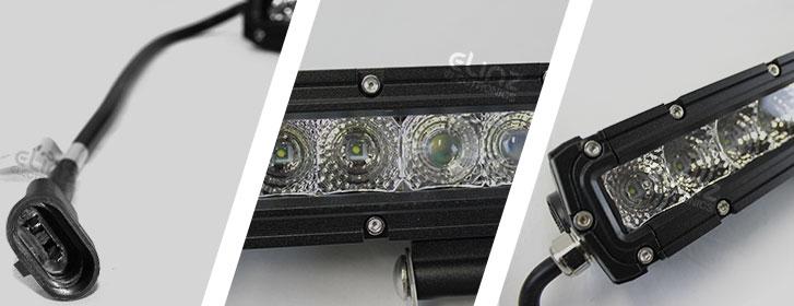 light bar cosmoblaze waterproof connector