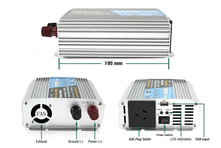 label 12v inverters 3000w