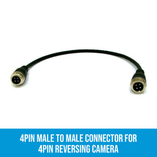 4PIN Male to Male connector for 4PIN Reversing Camera