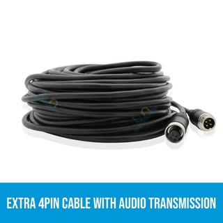 Extra 4PIN cable with Audio transmission