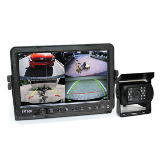 "7"" DVR Monitor 4CH Realtime with 1 Camera Package"