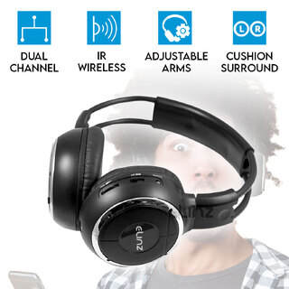 1X Wireless IR Headphone