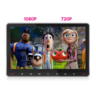 "11.6"" Slim Active Car Headrest DVD Player HD Digital Monitor 1080P HDMI Game 9"""