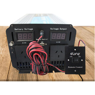 Pure Sine Wave Power Inverter 3000W/6000W 24V-240V Remote Control AUS Plug
