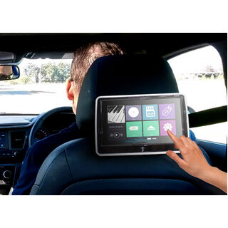 "Elinz 2x 10.1"" TFT Touch Screen Active Headrest Car DVD Player Slim Full HD 1080P Games"