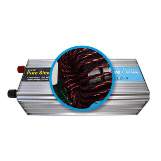 Pure Sine Wave Power Inverter 2500w / 5000w 12v - 240v AUS plug Car Boat Caravan