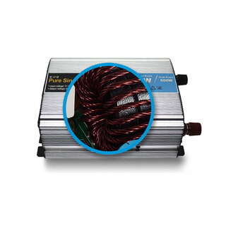 Elinz 300W / 600W Pure Sine Wave Power Inverter 12V - 240V AUS Plug Car Boat Caravan