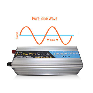 Pure Sine Wave Power Inverter 3000W/6000W 12V-240V AUS Plug Remote Control