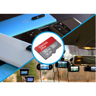 Elinz Class 10 32GB Micro SD Memory Card Dash Cam
