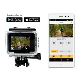 2.0 Action Sports Camera Wifi 4K/30FPS UHD Touch Screen Dual 16MP Remote Control