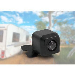 "7"" Monitor HD 12V/24V Reversing CCD 2x TWO Camera 4PIN System 3AV Caravan Kit"