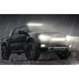"Cosmoblaze 20"" LED Light Bar Osram Driving 1 Row Flood Spot Combo Beam 4x4 Truck"