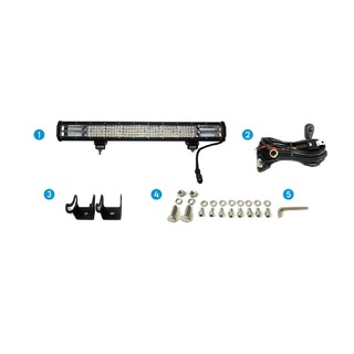 "Elinz 26"" 4 Rows LED Light Bar Philips Work Driving Flood Spot Combo IP68 4WD Offroad"