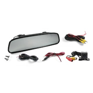 "Elinz 4.3"" Colour Digital TFT LCD Screen Car Rearview Mirror Monitor Reversing Camera"