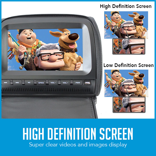 car dvd player hd vs sd comparison