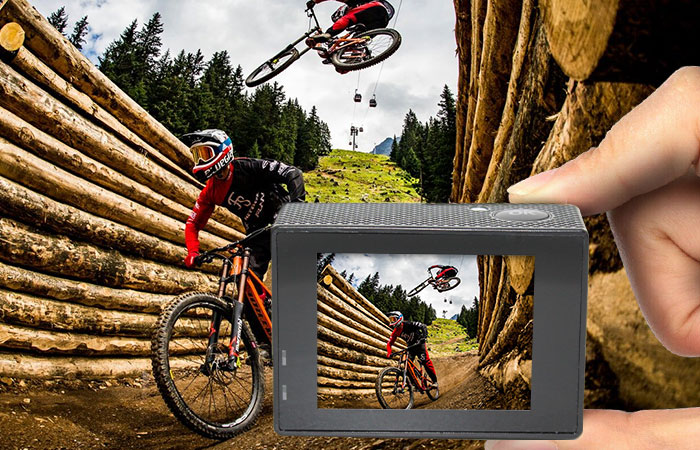 Action Camera 4K HD  up to 60 frames per second