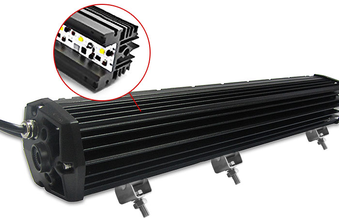 6063 Extruded Aluminium Housing Light Bar