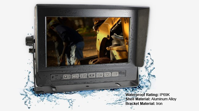 IP69K Waterproof Reversing Camera Monitor