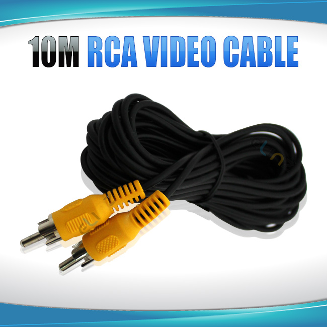 "rca video cable labelled ""10m"""