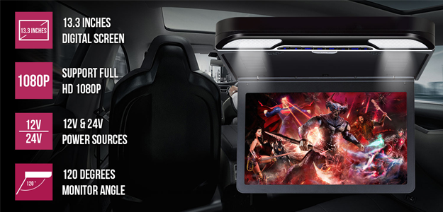 Roof Mount DVD Player, A Perfect Must-Have