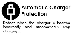 automatic charger protection graphic