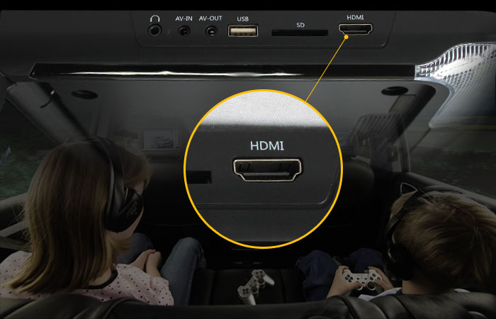 Built-in HDMI Car DVD