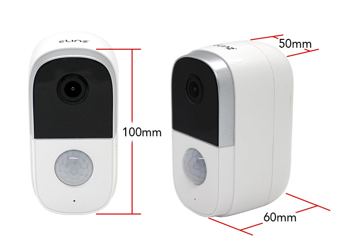 1080 Wireless CCTV Camera Dimensions