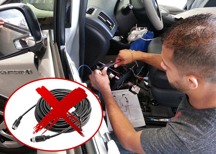 Easy to install Wireless Reversing Camera Kit