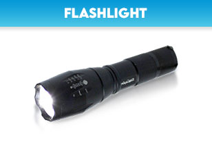 flashlights & headlights of different sizes