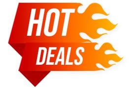 hot deals graphic