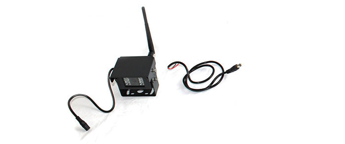 wireless reversing camera and power cord
