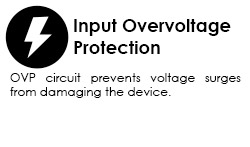 input overvoltage protection graphic
