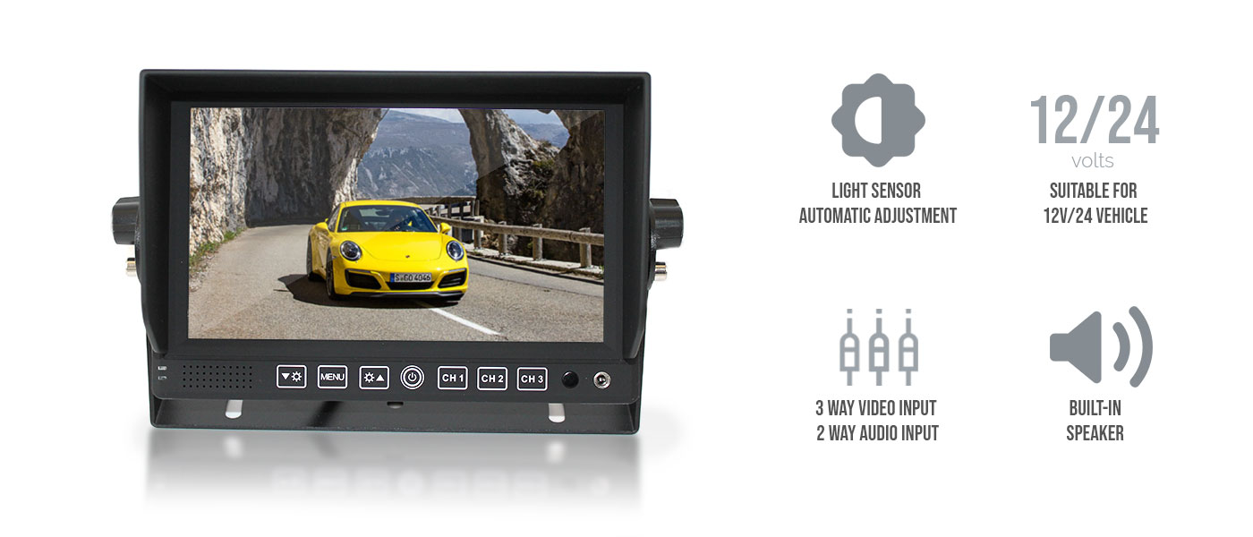 """Toyota 7"""" In Dash Car DVD Player Touch Screen"""