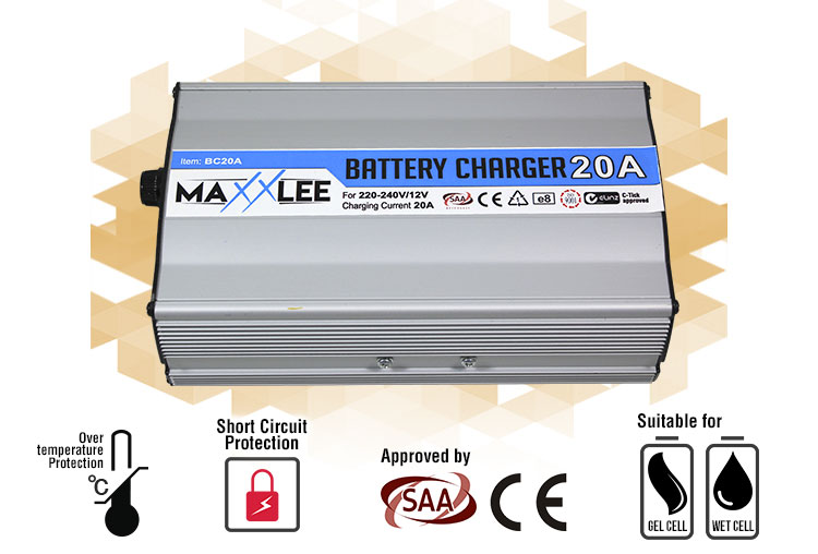 main battery chargers BC20A