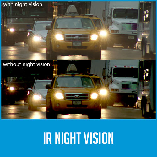 reversing camera night vision comparison