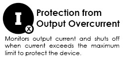 protection from output overcurrent graphic