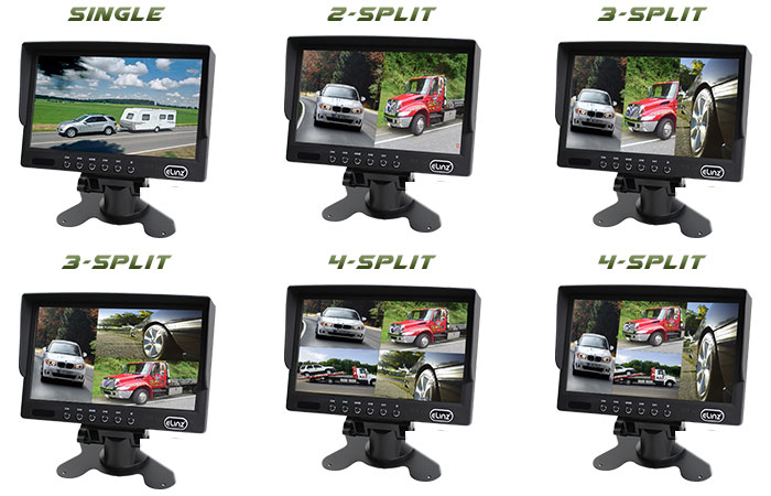 Splitscreen Monitor Display