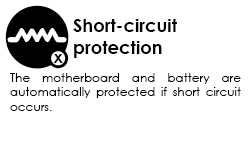 short circuit protection graphic