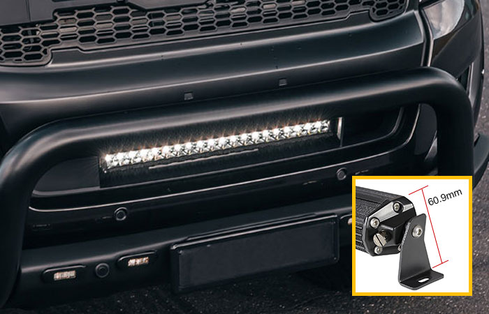 Slim Design 1 Row Light Bar