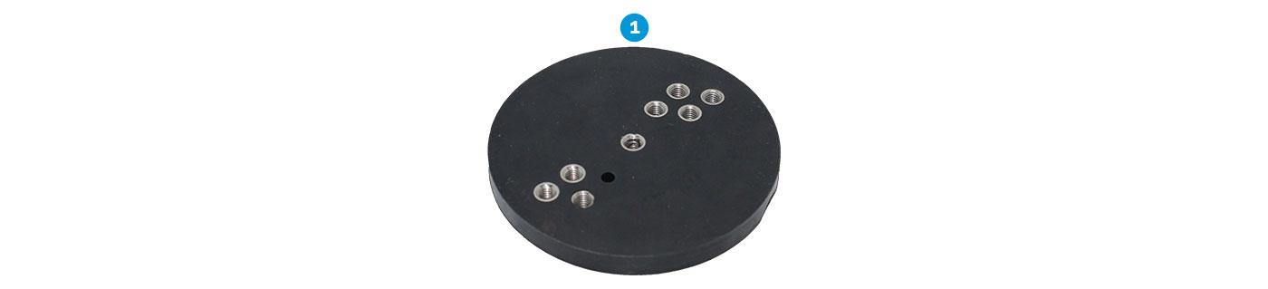 Mounting Base Camera Battery Pack
