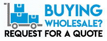 buying wholesale? request for a quote graphic