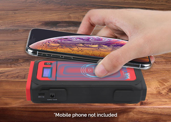 Battery Charger Wireless Charging Function
